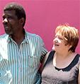 Marianne Hubert et Emilien Sanou