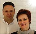 Delphine Roshardt et Christophe Hoogstoel.