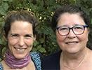 Aisha Sieburth et Anne-Marie Marty