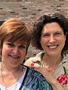 Delphine Roshardt et Claire Balleux